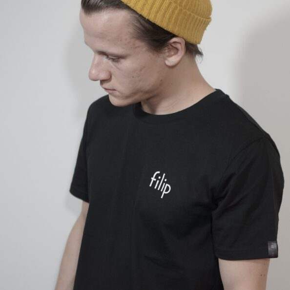 "T-Shirt ""filip"" – black"